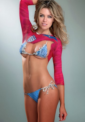 World Cup 2014 Body Paint