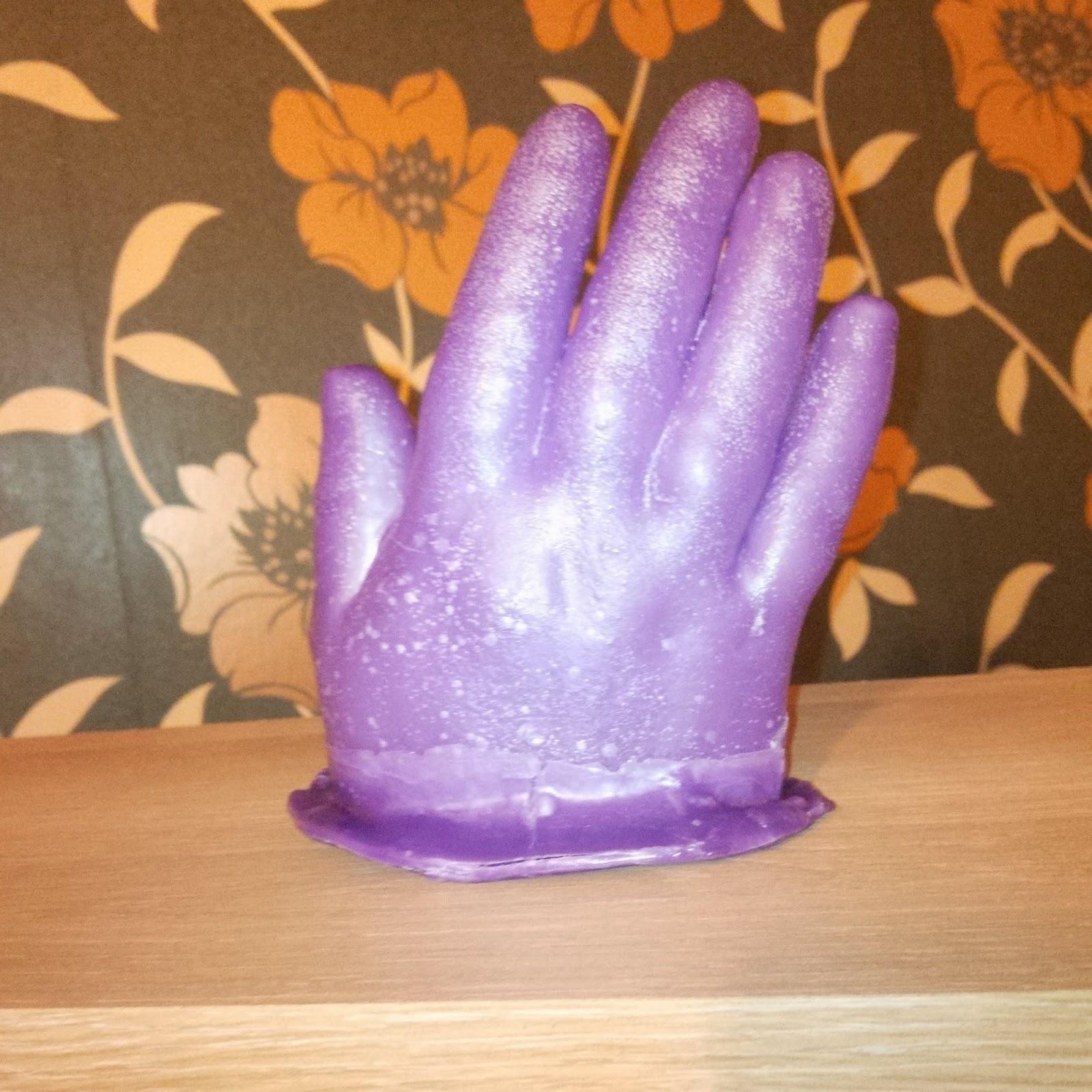 wax hand