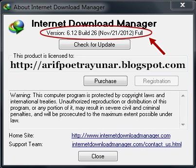 Download IDM 6.12 Build 26 Full Version