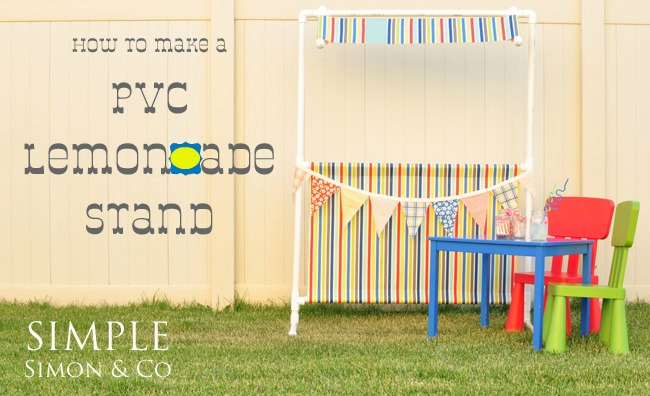 A do it yourself pvc pipe cabana and some other fun pvc projects the pvc lemonade stand solutioingenieria Choice Image