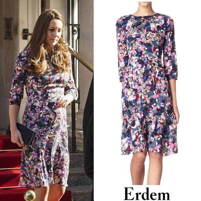 Kate Middleton in ERDEM Darla Dress