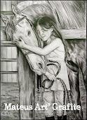Ultimo trabalho- Menina e Cavalo