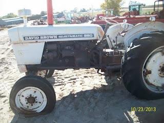 David Brown 880 tractor parts