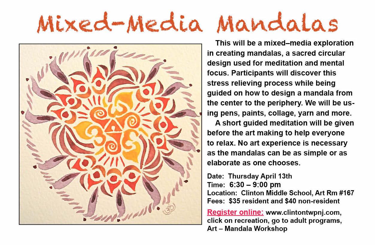 April Mandala Making