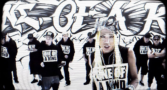 G-Dragon One of a Kind mv screencap.