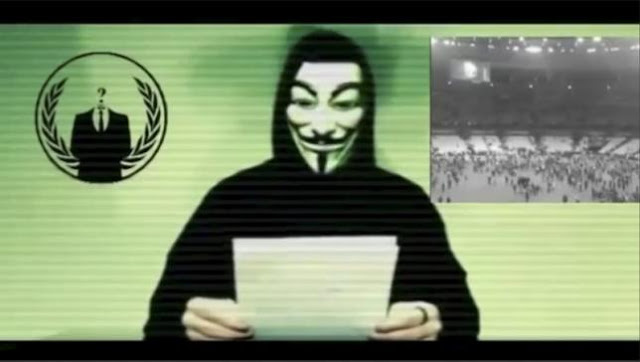 Anonymous hackers declare war on Islamic State after Paris attacks