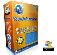 تحميل برنامج Your Uninstaller! 7.4.2012.5 لحذف و مسح البرامج من جذورها