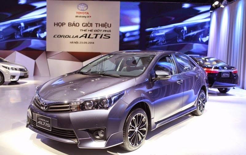 toyota corolla altis 2015 toyota tan cang 61 -  - 5 dòng xe bán chạy nhất tại Toyota Tân Cảng