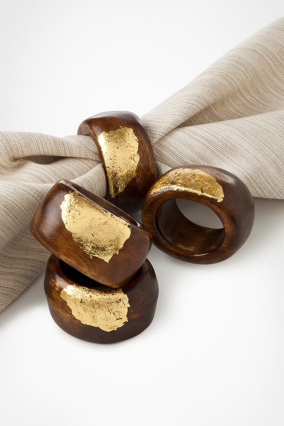 Gold Napkin Rings Amazon