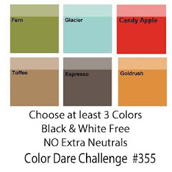 """CLICK HERE for Color Dare Challenge #355 """"Love of Color"""" - CLOSES AUG 22nd"""