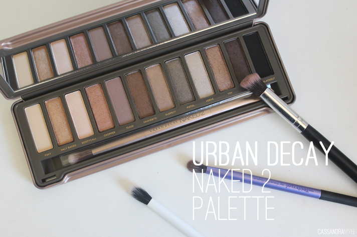 URBAN DECAY // Naked 2 Eyeshadow Palette Review + Swatches ...