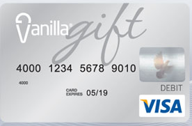 using vanilla visa online