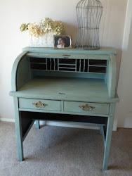 Keyhole desk- sold