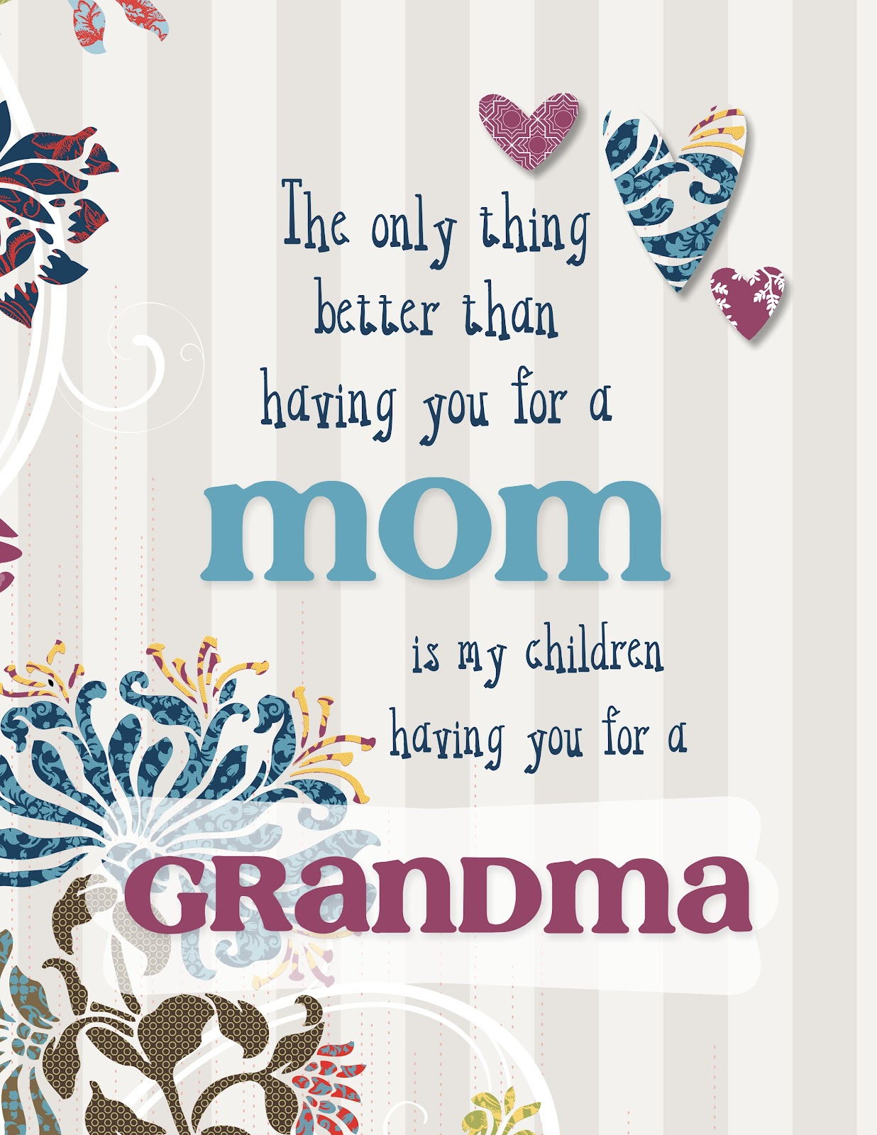 digital mother's day card