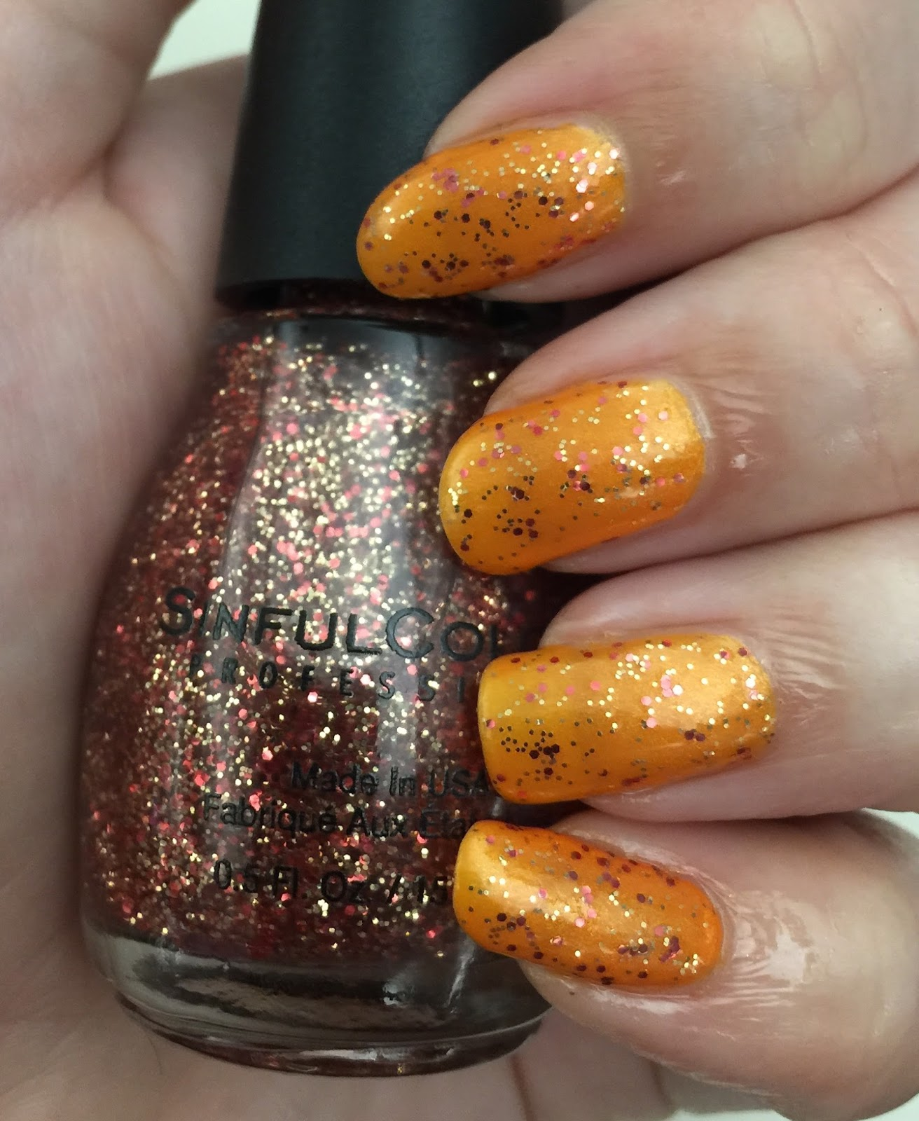 SinfulColors pumpkin spice