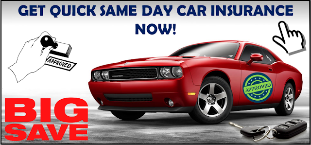 Same Day Auto Insurance with No Money Down