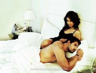 John Abraham & Bipasha Basu FilmFare Scans 6