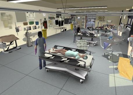 Gamesreviewer emergency simulation in 3d for 3d room simulator