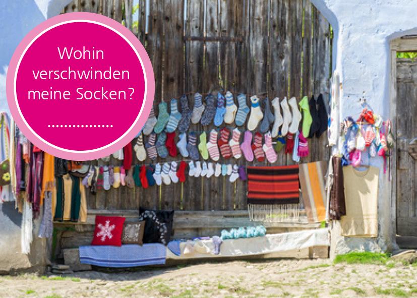 WARUM Socken IMMER VERSCHWINDEN!