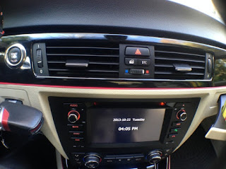 dvd navigation head unit afer installation