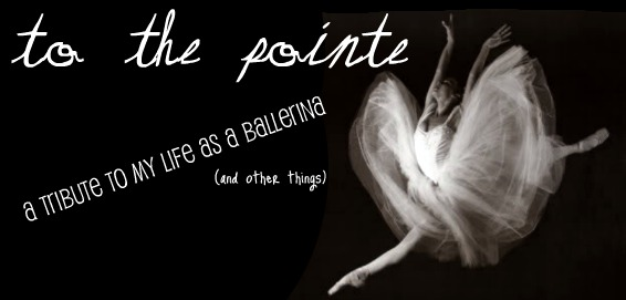 Straight to the Pointe