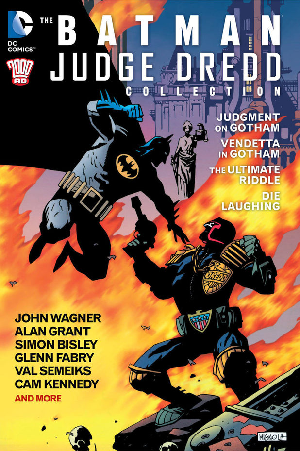 Review: Batman/Judge Dredd Collection