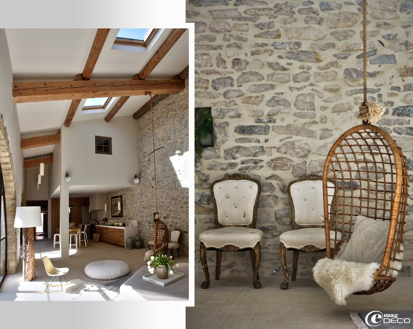 Un ancien moulin huile en vaunage e magdeco magazine for Site de decoration d interieur