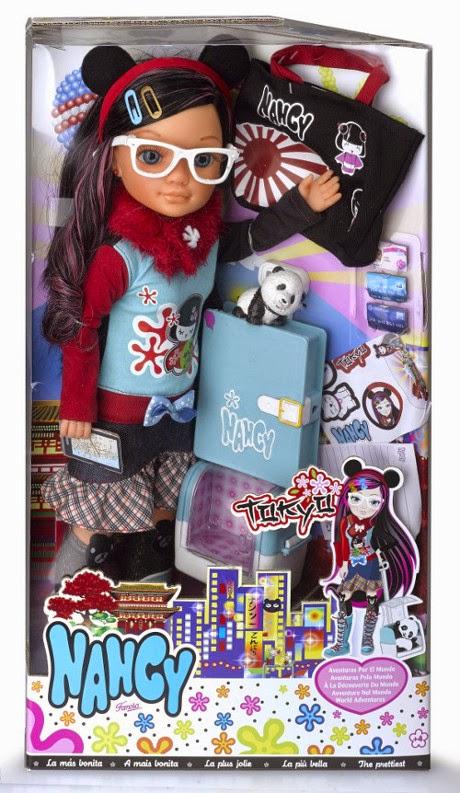 JUGUETES - NANCY   Nancy Aventuras por el Mundo : Tokio | Muñeca  Producto Oficial | Famosa 700011760 | A partir de 4 años