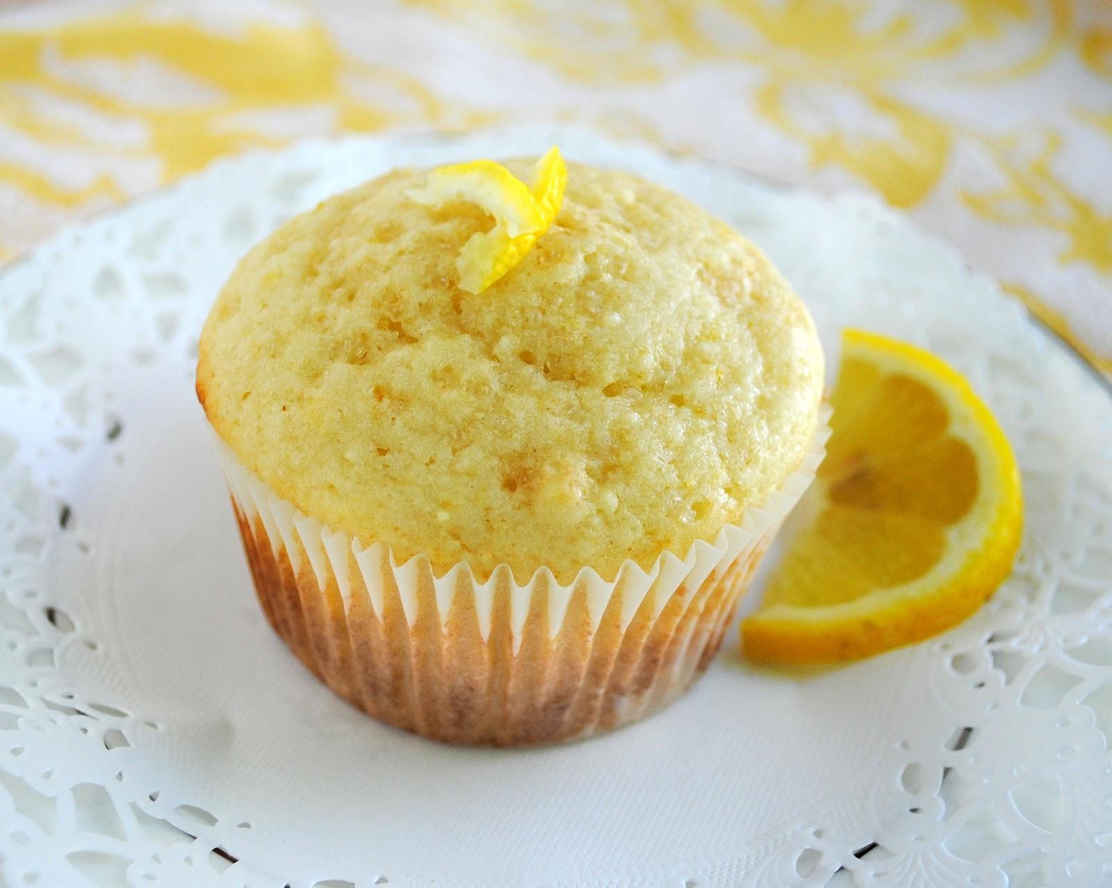 Кексы с лимоном рецепты