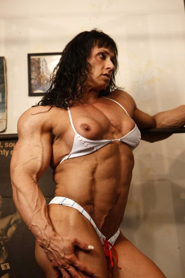 trish muscle girl big tits