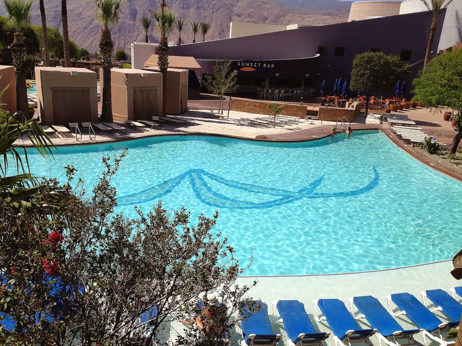 Morongo Casino Resort Pool, Morongo Review, Fashion Blogger, Morongo Pool