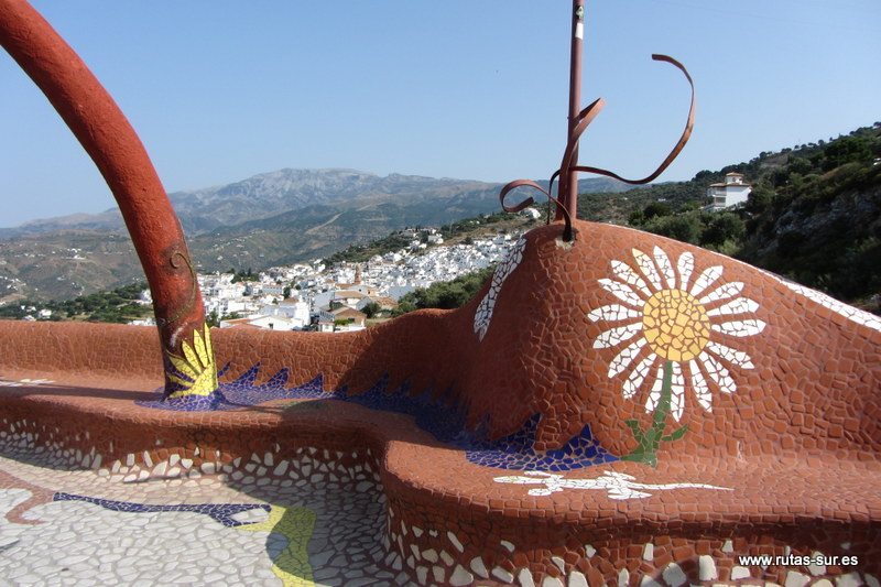 SIERRAS TEJEDA - ALMIJARA: Ruta MTB: Torrox - Cómpeta - Puerto del Collado - Paez Blanca - Acebuchal - Torrox