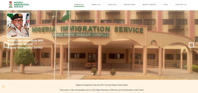 NIS Recruitment Application Form 2019