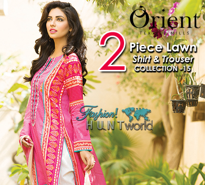 Orient 2 Piece Lawn Shirt And Trouser Collection 2015