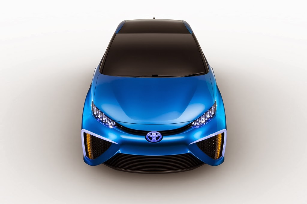 2015 Toyota will launch the car with zero emissions
