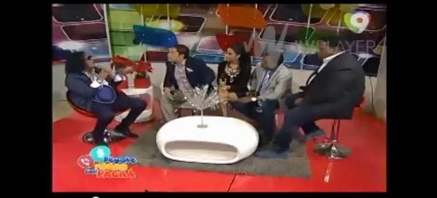Sergio llama sinverguenza y delincuente al PACHA' en TV en VIVO