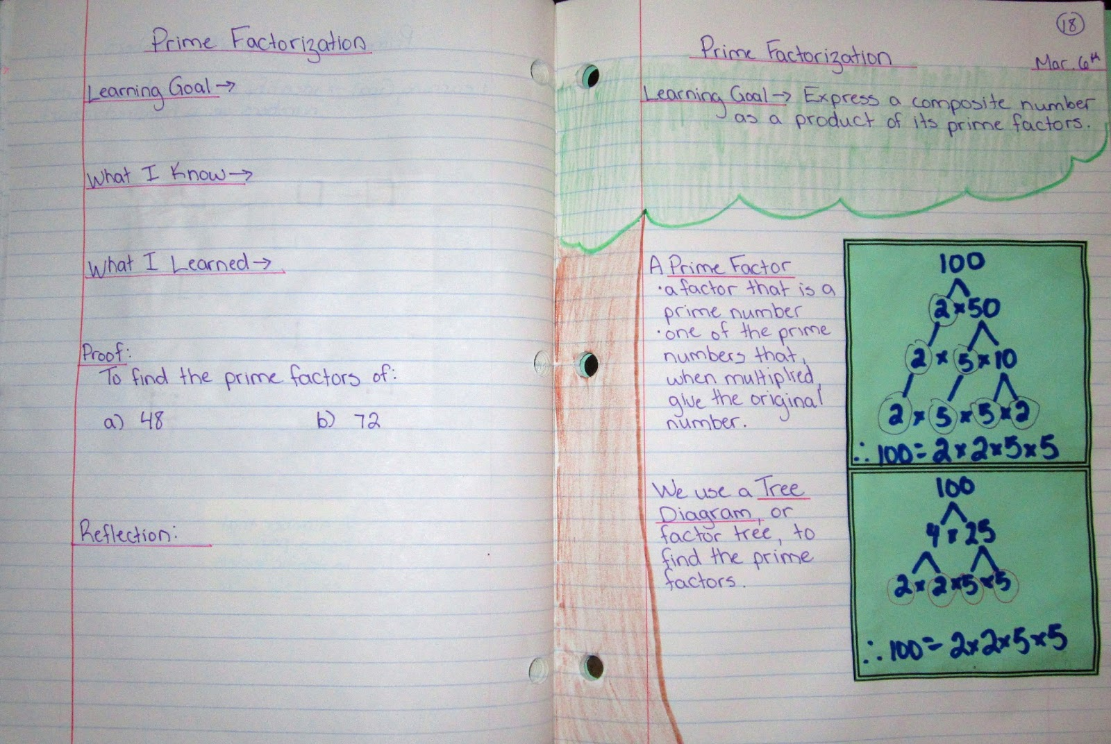 Christmas Factor Trees Worksheet Tree free math worksheets to print