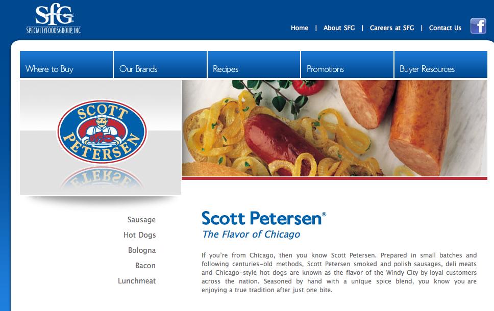 Scott Peterson Hot Dogs