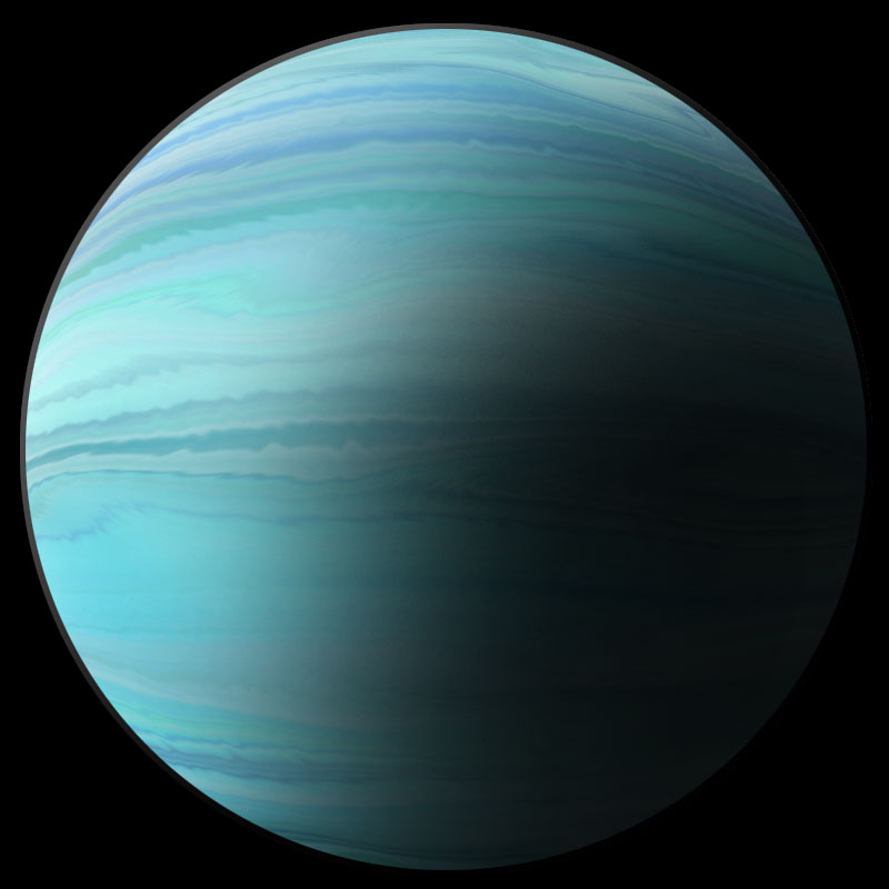 blue giant planet - photo #7