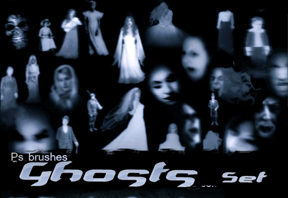 You Photoshop Terrifying Ghosts Fantome Creepy Photoshop