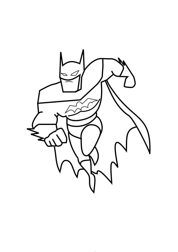 Batman Coloring Page Child Coloring