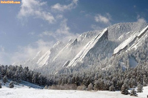 The Flatirons, Boulder, Colorado