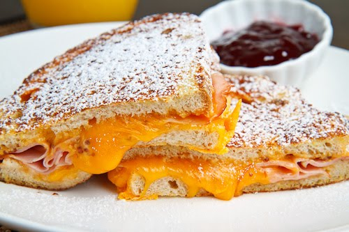 cheese sandwich breakfast grilled cheese sandwich with maple syrup