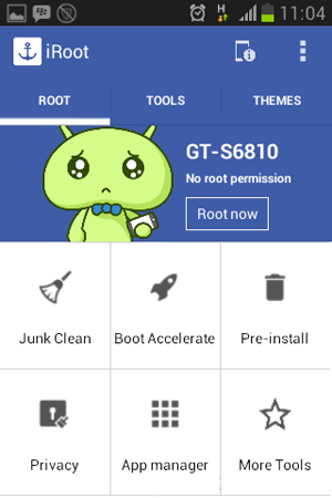 Cara Root Android Tanpa PC Dengan iRoot