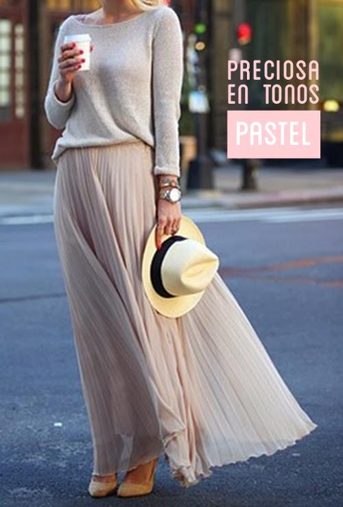 moda primavera verano faldas largas hermanas bolena