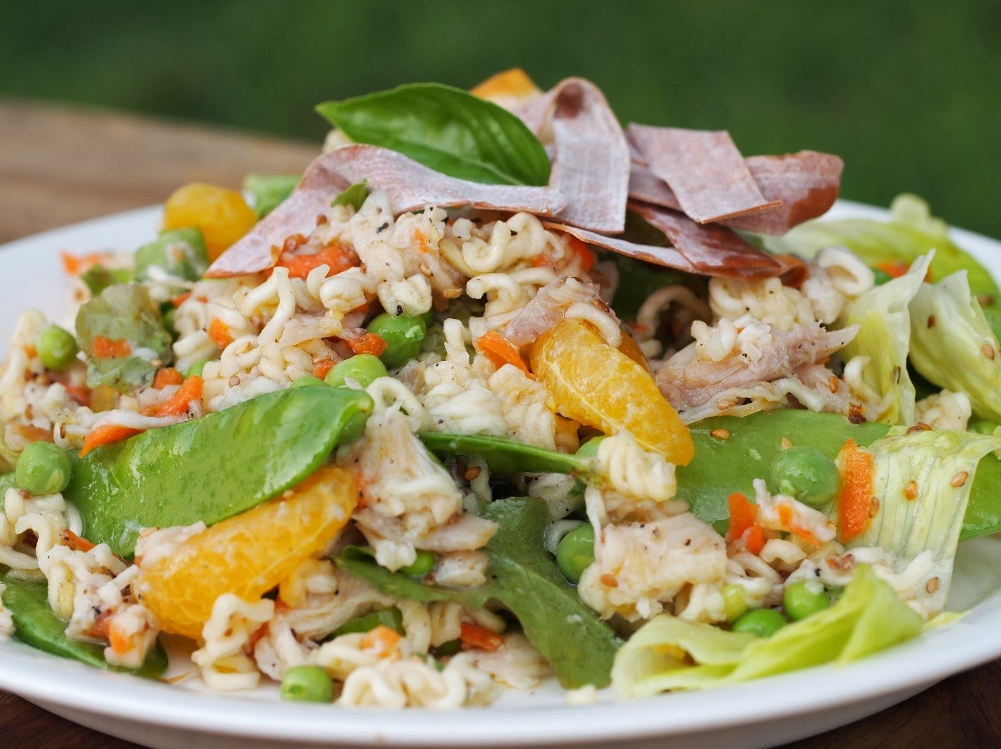 ... Best Recipes: Asian Chicken Salad with Fresh Ginger Dressing