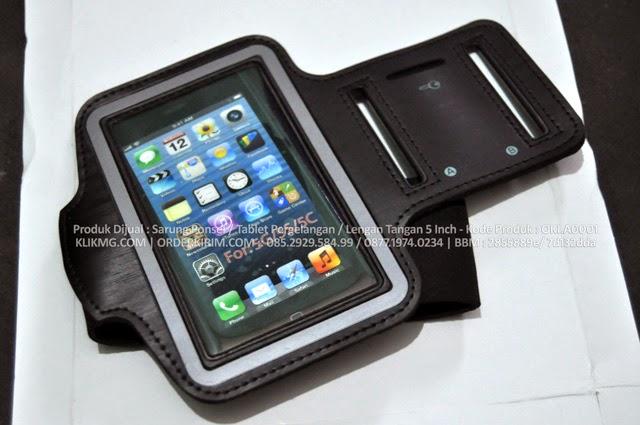Produk Dijual : Sarung Ponsel / Tablet Pergelangan / Lengan Tangan 5 Inch - Kode Produk : OKI.A0001