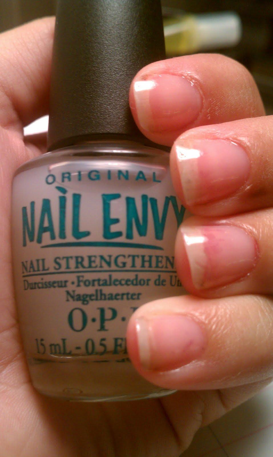 Nail Envy As Base Coat#%