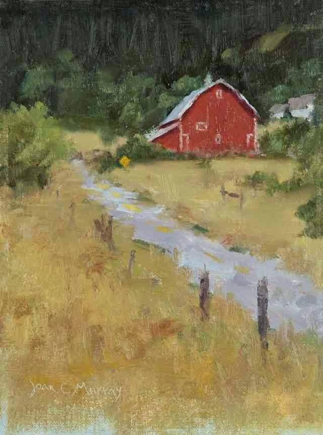Масляная живопись. Joan Murray