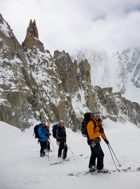Esqui de montaña Alpes:Grands Montets-Aguille de Argentiere